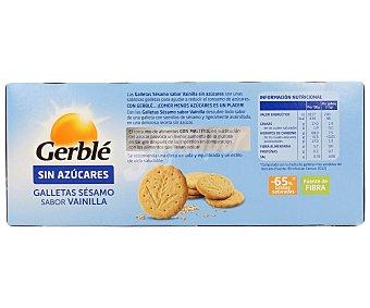 Gerblé Galleta de sésamo-vainilla Paquete 132 g