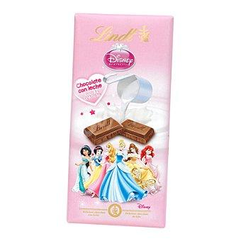 Lindt Chocolate con leche Princesas Disney 100 g