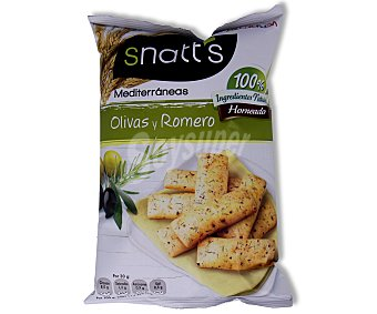 SNATT'S Palitos de olivas y romero 110 gramos