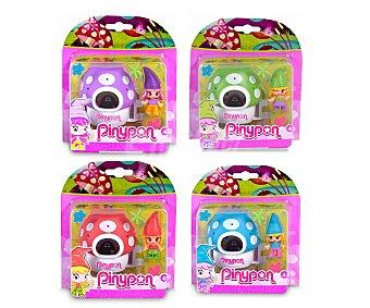 Pin y pon Playset de juego Pin y Pon Enanitos, incluye una minimuñeca enanito y su casa-seta 1 unidad