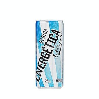 Hacendado Bebida energetica light Lata 250 ml