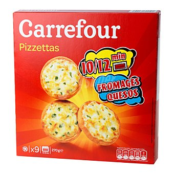 Carrefour Mini pizza 3 quesos 270 g