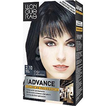 Llongueras Tinte Color Advance negro azulado nº 2.10 caja 1 unidad Caja 1 unidad