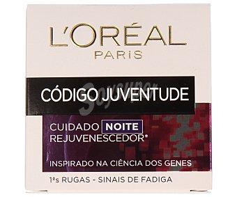 L'Oréal Crema antiarrugas noche Código Juventud de 50 mililtiros