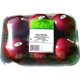 Manzanas starking Girona Bandeja 1,3 kg peso aproximado