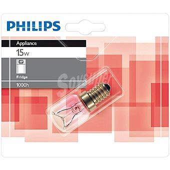 Philips Appliance 15 W lampara standar para frigorifico E14 (fino)