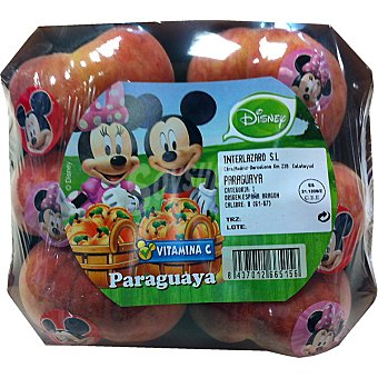 DISNEY2 Paraguayas bandeja 445 g (contiene juguete sorpresa) Bandeja 445 g
