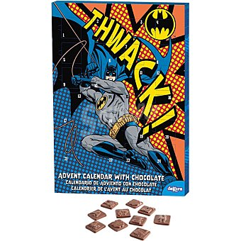 DEKORA Batman Calendario de Adviento con chocolates unidad 50 g Unidad 50 g