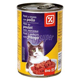 DIA Alimento para gatos pate s pollo Lata 400 gr