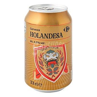 Carrefour Cerveza Holandesa Lata 33 cl