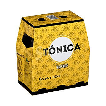 Hacendado Tonica Botellin pack 6 x 200 ml - 1200 ml