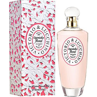 Victorio & Luccino Floral Rosa eau de toilette natural femenina spray 100 ml Spray 100 ml