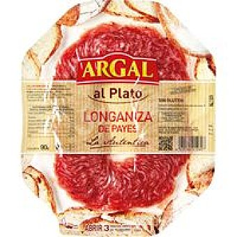 Argal Longaniza Payés Plato de 90 g
