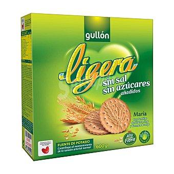 Gullón Galleta María ligera sin sal ni azúcar Caja 600 g