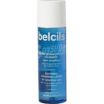 Belcils Loción desmaquillante calmante para ojos y rostro rico en aguas florales frasco 150 ml para ojos sensibles Frasco 150 ml