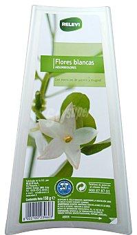 Relevi Ambientador absorbeolor barqueta flores blancas u