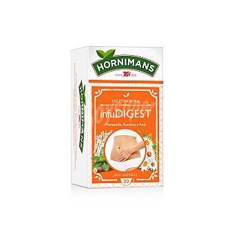 Hornimans Infudigest de manzanilla rooibos y anís 100% natural Estuche 20 sobres