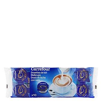 Carrefour Producto lácteo para café monodosis Pack de 10x10 g