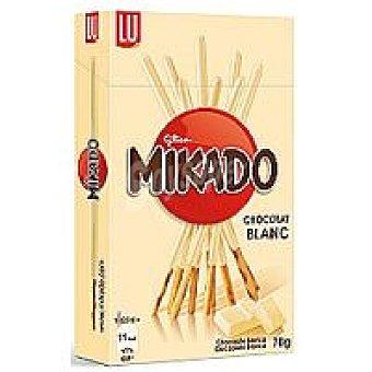 Mikado Barritas de chocolate blanco Caja 75 g