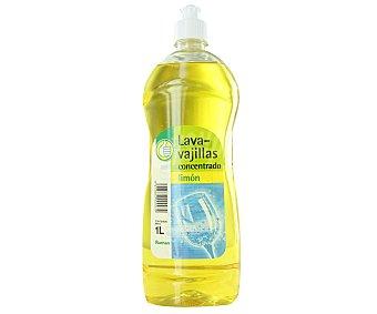 Productos Económicos Alcampo Lavavajillas a mano concentrado, aroma limón 1 litro