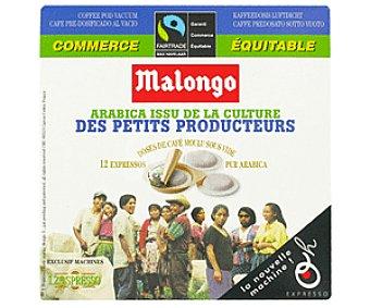 Malongo Café Monodosis Puro Arábico Café Monod. P.Arábico12u