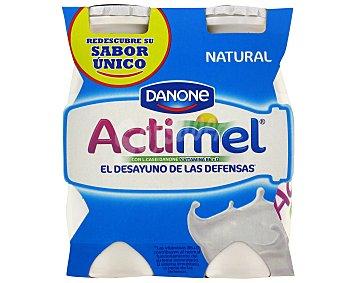 ACTIMEL de DANONE Yogur Líquido Natural Lcasei 4x100g