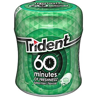 Trident Chicles Hierbabuena 60 minutes 80 g
