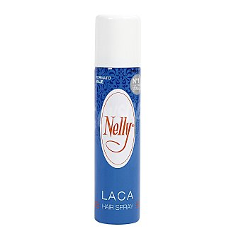 Nelly Laca de pelo en spray, con fijación normal y formato de viaje 75 ml