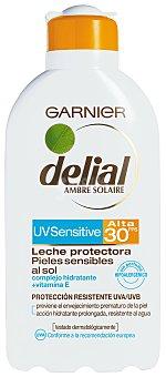 Delial Garnier Leche Protectora F-30 Delial 200 ml