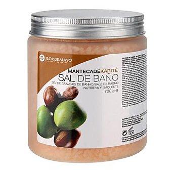 Flor de Mayo Sal de baño con manteca de Karité 700 g