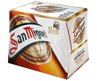 San Miguel Cerveza Especial Pack 12x25 cl, (300 cl)