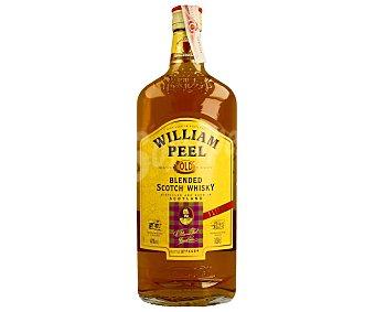 William Peel Whisky blended Botella de 1 litro