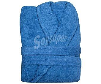 Actuel Albornoz adulto talla L 100% algodón color azul, /m², actuel 380 g