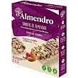 Barrita de chocolate blanco-frutos rojos Caja 100 g El Almendro