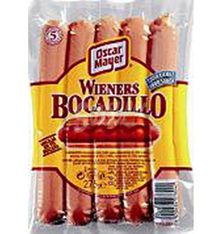 Salchichas o.mayer wieners boc 275 G