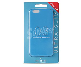 PURO Carcasa trasera ultraslim Azul, para iphone 6
