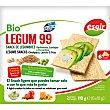 Bio Legum 99 snacks de legumbres garbanzos, lentejas y guisantes ecológicos y sin gluten Envase 110 g Esgir