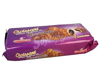Arruabarrena Croissant relleno de chocolate arrubarrena 4 x 35 g
