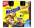 Go petit natillas de chocolate sin gluten Pack 4 unidades 80 g Nesquik Nestlé