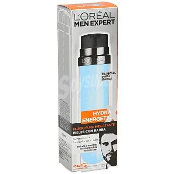 Men Expert L'Oréal Paris Fluido puro hidratante para pieles con barba Hydra Energetic Dosificador 50 ml