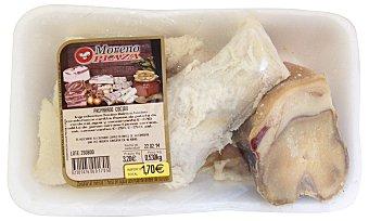 Embutidos Moreno Plaza Arreglo cocido fresco (tocino, hueso salado, corteza añeja, hueso jamon) Bandeja 500 g