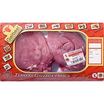 GALIBEEF Ternera gallega solomillo peso aproximado bandeja 350 g 2 unidades