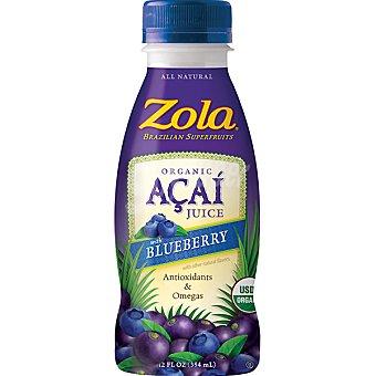 ZOLA bebida de acai y arándanos ecológico  envase 350 ml