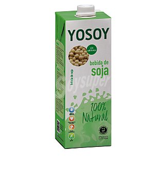 Yosoy Bebida soja natural 1 L