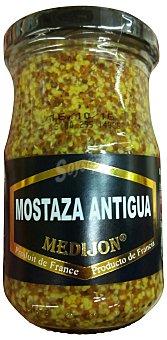 MEDIJON Mostaza a la antigua con granitos Tarro de 200 g