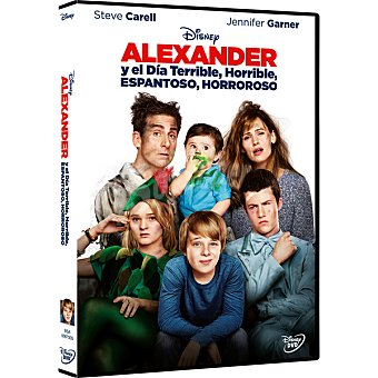 Alexander y el día terrible, horrible, espantoso, horroroso en DVD