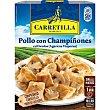 Pollo con champiñones Bandeja 250 g Carretilla