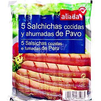 Aliada Salchichas de pavo Bolsa 200 g