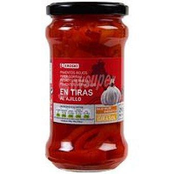 Eroski Pimiento rojo en tiras Tarro 190 g