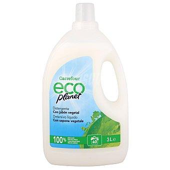 Carrefour Eco Planet Detergente liquido con jabón vegetal ecológico 40 lavados